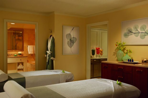 The spa at The Ritz-Carlson Buckhold, an area known as 'The Beverly Hills of the South', in Atlanta (Courtesy of Ritz-Carlson)