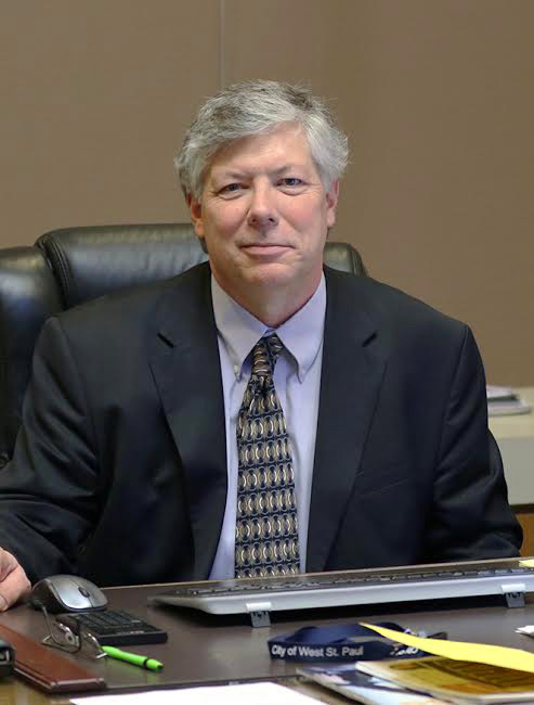 Ryan Schroeder, 59, is West St. Paul's new city manager. (Courtesy photo)