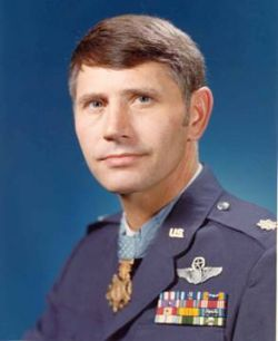 Air Force Col. Leo Thorsness (Congressional Medal of Honor Society)