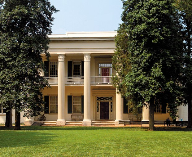 The Hermitage, the home of Andrew Jackson, the seventh U.S. president. (Courtesy of Nashville Convention & Visitors Corporation)