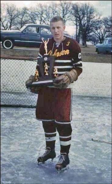 Thomas Brindley captained his high school hockey team and led them to the Consolation Championship in 1961. (Lou Ferraro / Courtesy Photo)