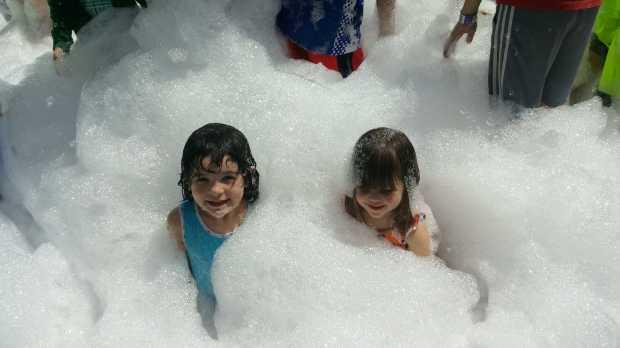 Foam party at Como Town Amusement Park. (Courtesy of Como Town Amusement Park)