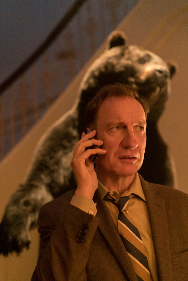 "Here's one thing that folks in Eden Prairie and Eden Valley can agree on: V.M. Varga (David Thewlis) describing Minnesota as ""sublimely, perfectly bland"" in ""Fargo"" is just plain mean. (Chris Large/FX)"