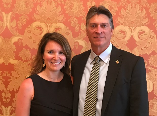 Rebecca and Paul Nickerson, the owners of Selma's Ice Cream Parlour, will be grand marshals in the Afton Fourth of July .