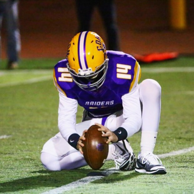 Cretin-Derham Hall's Casey O'Brien has overcome two bouts with cancer to earn a walk-on spot as a holder for the Gophers football team. (courtesy photo)