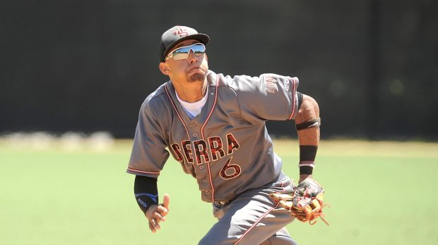 The Minnesota Twins' number one draft pick was Royce Leiws of JSerra High School in San Juan Capistrano, Calif. (Photo by Bill Alkofer,Orange County Register/SCNG)