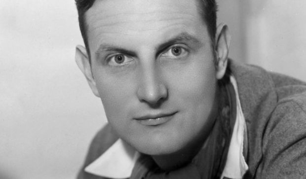English stage director and dramatist Sir William Tyrone Guthrie, who helped found the Guthrie Theater in Minneapolis, was born on this day in 1900. He died in 1971, and this photo is from 1933. (Sasha/Getty Images)