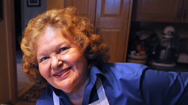 Eleanor Ostman, former food writer at the Pioneer Press and author of Always on Sunday, in the kitchen of her home in Roseville, Wednesday, September 3, 2014. Her book is in its fourth printing and has been condensed and recipes edited out. (Pioneer Press: Jean Pieri)