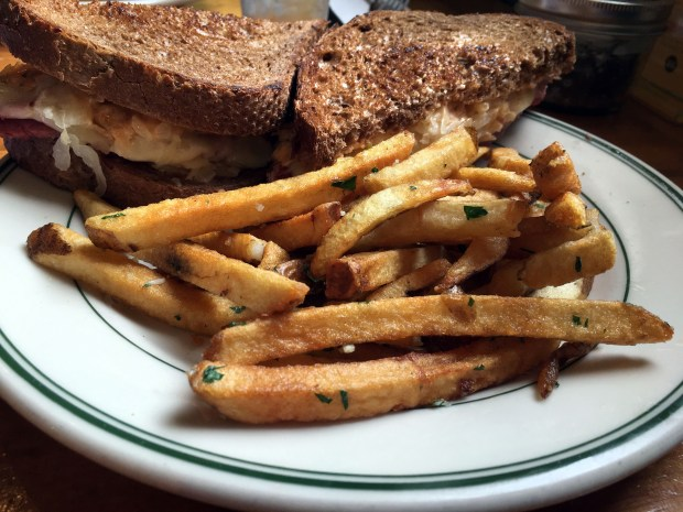 July 2017 photo of fries from Ward 6 in St. Paul. (Jess Fleming / Pioneer Press)