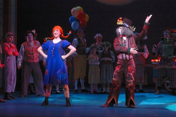 "Jessie Shelton, who survived the Interstate 35W bridge collapse of Aug. 1, 2007, played the title role in the Children's Theatre Company (CTC) production of ""Pippi Longstocking"" in 2006. (Courtesy of Jessie Shelton)"