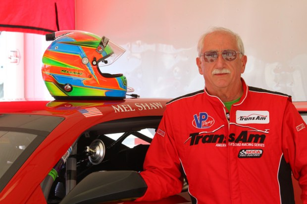 Racecar driver Mel Shaw was killed in a crash Sunday at Brainerd International Raceway. Shaw was racing in a Sports Car Club of America Trans Am racing event. (Courtesy of Breathless Performance Racing Team via Forum News Service)