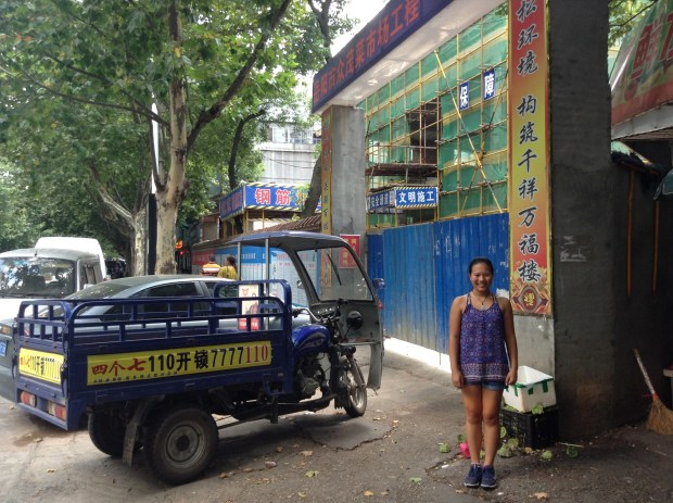 Mei's finding spot in Yueyang City, Hunan Province, China.