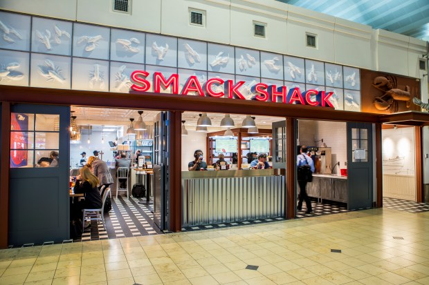 Smack Shack at Minneapolis-St. Paul International Airport (Courtesy of Metropolitan Airports Commission)