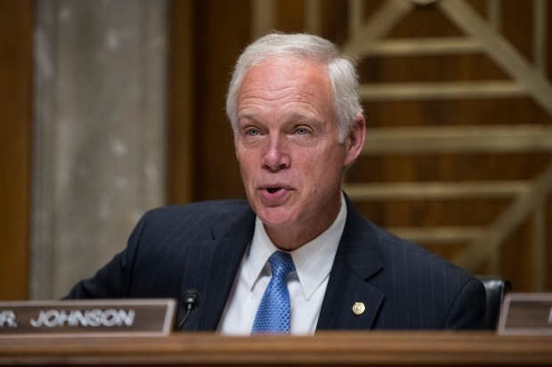 Sen. Ron Johnson, R-Wis., chairs a Senate Foreign Relations subcommittee hearing on Steve King, a prominent GOP insider from Wisconsin, nominated to be ambassador to the Czech Republic, on Capitol Hill Washington, Tuesday, Aug. 1, 2017. The Senate has delayed the start of the traditional summer recess until the third week of August to catch up on uncompleted work. (AP Photo/J. Scott Applewhite)
