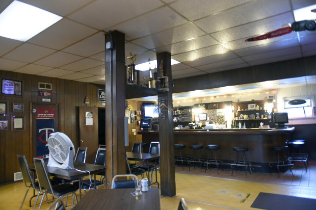 """The Beehive Tavern, one of the last 3.2 beer bars in St. Paul, sits empty on a recent afternoon, August 9, 2017. Owner John Weber, 75, plans to shut it down and sell the property. """"There is no money in it anymore."""" (Pioneer Press: Scott Takushi)"""