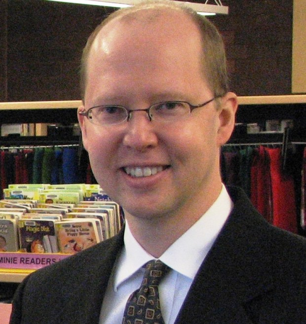 Mark Troendle, assistant director of the L.E. Phillips Memorial Public Library in Eau Claire, Wis., was named director of the Stillwater Public Library in August 2017. Courtesy of Mark Troendle