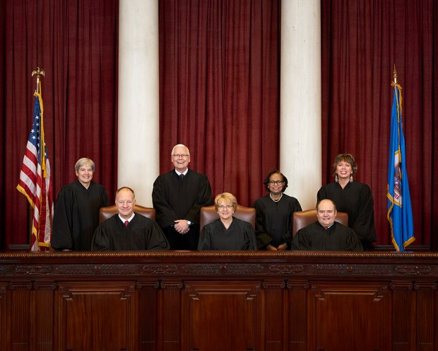 Minnesota Supreme Court, 2017 (courtesy Minnesota Judicial Branch)