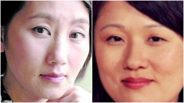 Kao Kalia Yang, left, and Sun Yung Shin