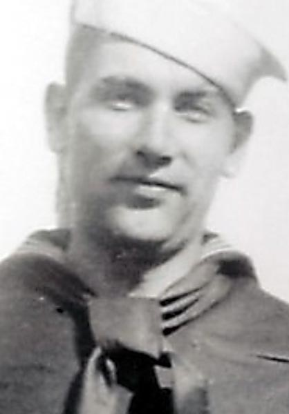 Quentin Gifford was killed at Pearl Harbor when the USS Oklahoma capsized after being struck by torpedoes Dec. 7, 1941. His remains were identified in 2017 after DNA testing. The two surviving Gifford siblings of the family of five children that grew up in Mankato may now begin burial plans for a brother who was 22 when he died. June Shoen, 80, of Angle Inlet, and Harold Gifford, 93, of Woodbury, received calls July 31, 2017 following up on DNA tests they'd submitted last year. (Courtesy of Dawn Shoen Wilwert, via Mankato Free Press)