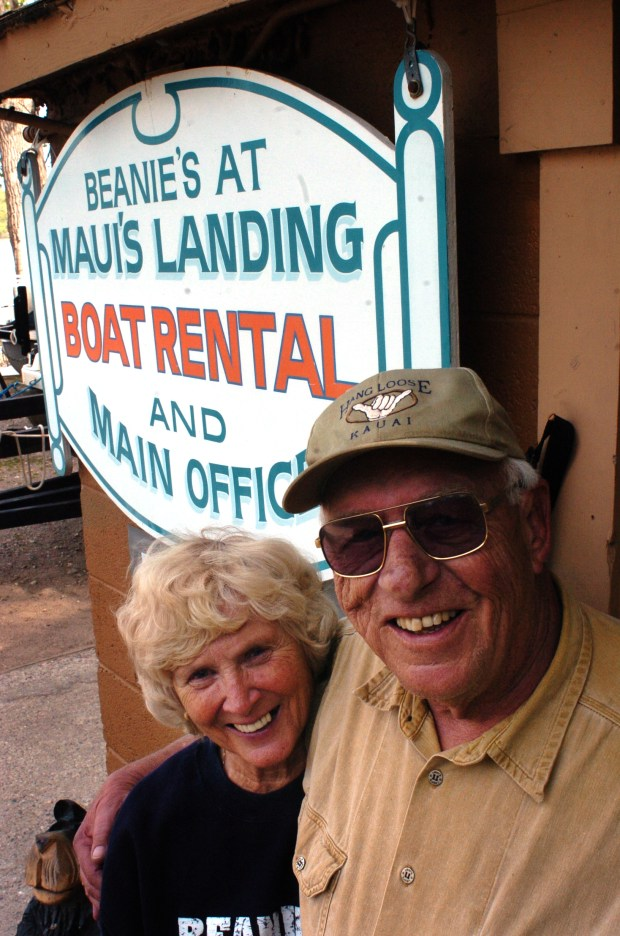 Gary and Dottie Mau, who owned and operated one of the last bait and tackle stores along the St. Croix River, is selling their business on Oct. 31, 2017. They were photographed in 2010. (Pioneer Press file photo/ Chris Niskanen)