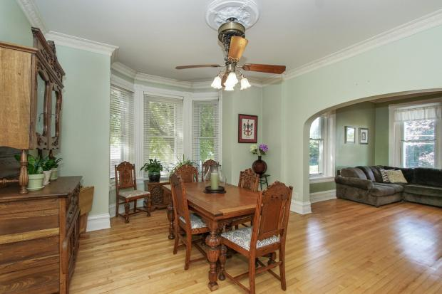 The formal dining room at 1010 Oakdale Ave. in West St. Paul. (Boulevard Real Estate Photography)