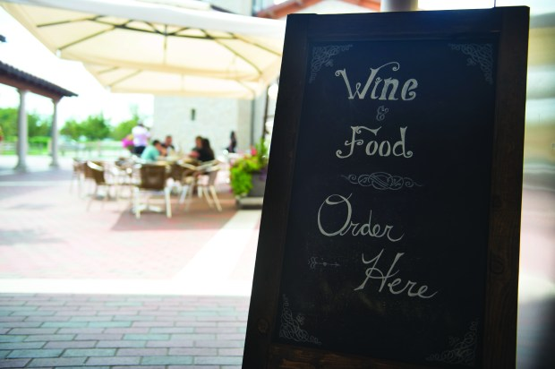 Il Forno at Villa Belleza is a new casual, outdoor restaurant that recently opened at the winery. It's a place to sip wine, nosh on Italian fare and enjoy the gorgeous Tuscan-inspired patio in Pepin, Friday, August 11, 2017. (Special to the Pioneer Press: Craig Lassig)