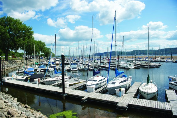 Pepin is a spot for plenty of leisure, including taking in lake views & watching boats come in and out of the marina., Friday, August 11, 2017. (Special to the Pioneer Press: Craig Lassig)