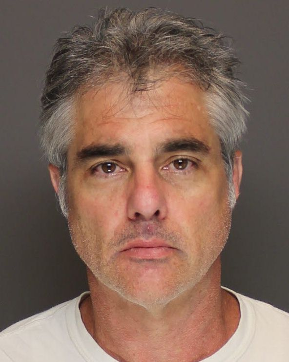 Steven Kenneth Kuhns, 49, of Hastings, allegedly ran a counterfeit money operation out of a stolen motor home. He was booked into Dakota County jail Sept. 11. (Courtesy of Dakota County sheriff's office)