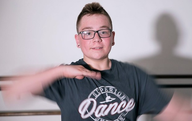 A nonprofit legal foundation is threatening to sue the Minnesota State High School League on behalf of Kaiden Johnson, 15, of Superior, Wis., who was barred from participating in a girls high school dance championship last December. (Forum News Service)