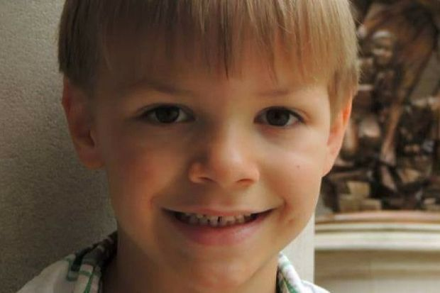 Edward Joseph Michalek, 5, of Big Lake Township died Tuesday, Oct. 17, 2017, when a tree a hammock was tied to fell over and struck his head. (Courtesy of the family)