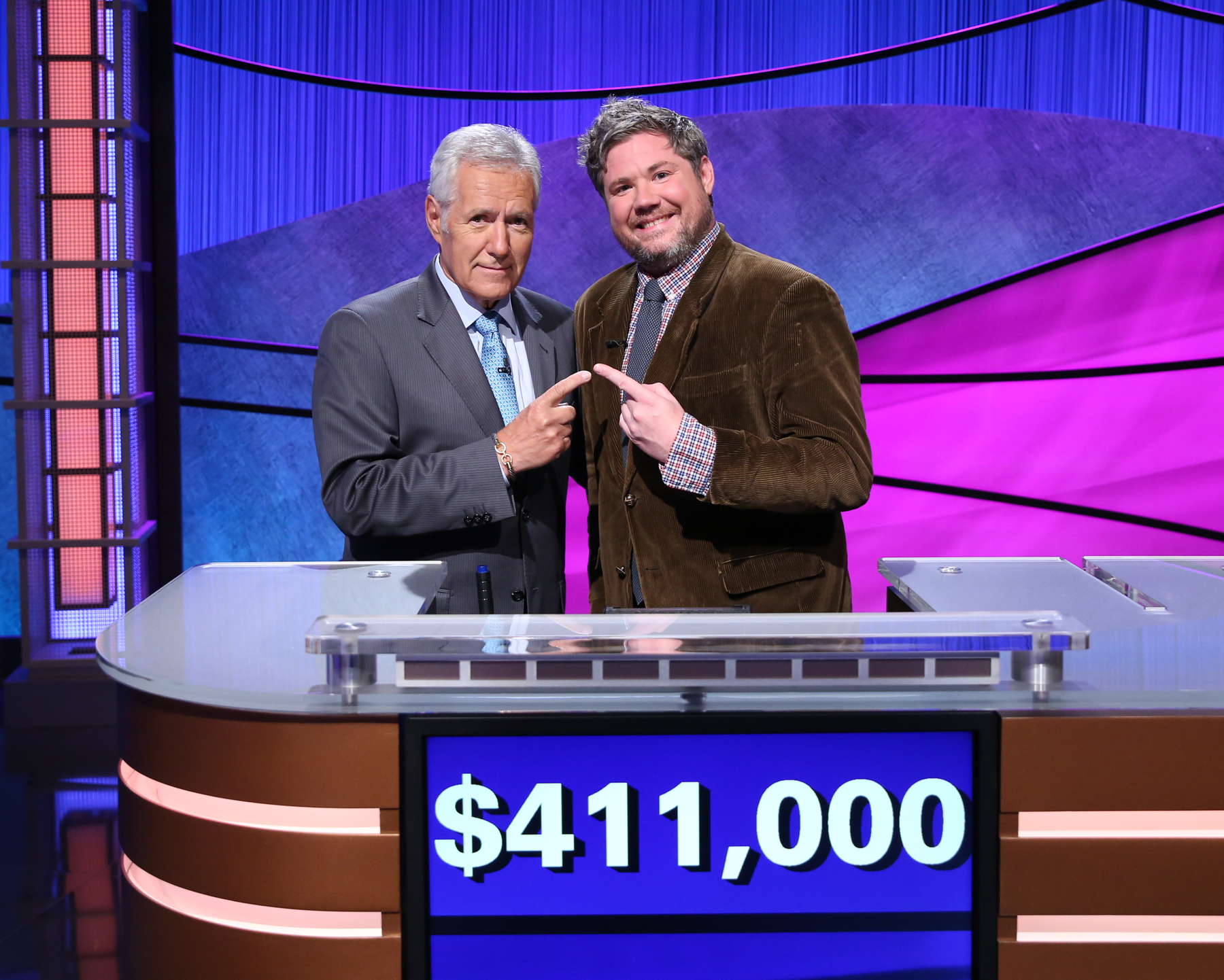 America's favorite Jeopardy! contestant's run ends after $411000 in winnings