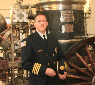 Matt Simpson is St. Paul Assistant Fire Chief of Emergency Medical Services. (Courtesy of City of St. Paul)