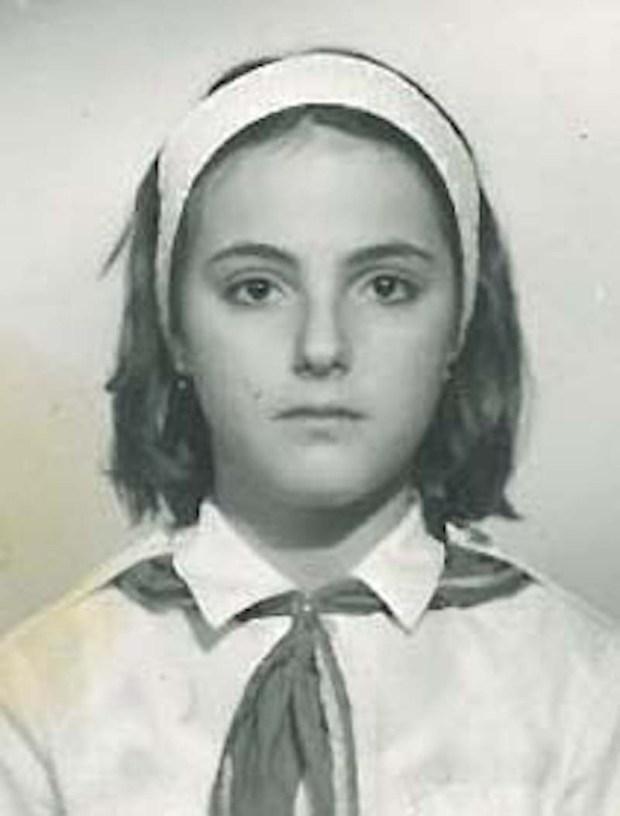 Eugenia Popa as a child (Forum News Service)