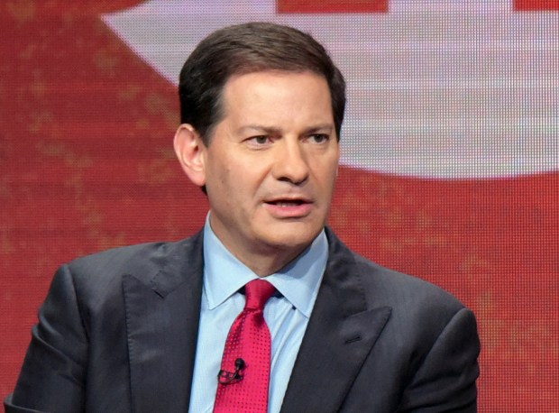 FILE - In this Aug. 11, 2016 file photo, author and producer Mark Halperin appears at the Showtime Critics Association summer press tour in Beverly Hills, Calif. Halperin's publisher has canceled the book he was to co-write about the 2016 election. Penguin Press announced Thursday, Oct. 26, 2017, that the decision was made after learning of allegations of sexual harassment. (Photo by Richard Shotwell/Invision/AP, File)