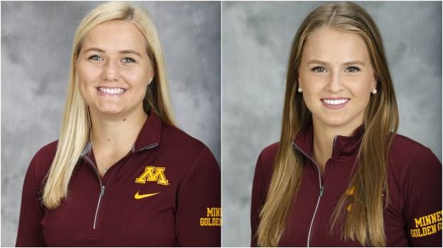 Sophie Skarzynski and Caitlin Reilly (Courtesy of University of Minnesota Athletics
