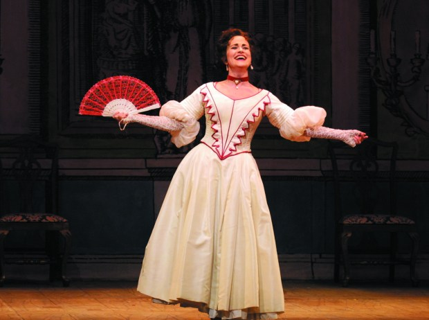 "Adriana Zabala in Minnesota Opera's ""The Barber of Seville"" in 2001. (Photo by Dan Norman)"