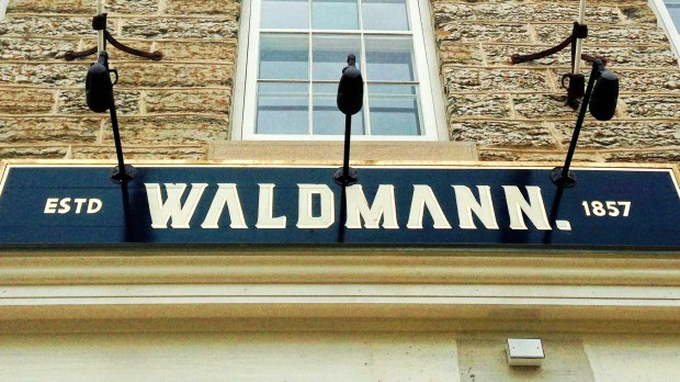 Waldmann Brewery and Wurstery at 445 Smith Ave., St. Paul is shown on Oct. 5, 2017. (Maren Longbella / Pioneer Press)