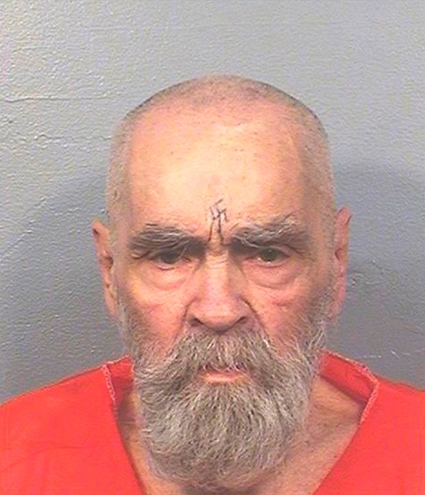 This Aug. 14, 2017 photo provided by the California Department of Corrections and Rehabilitation shows Charles Manson.