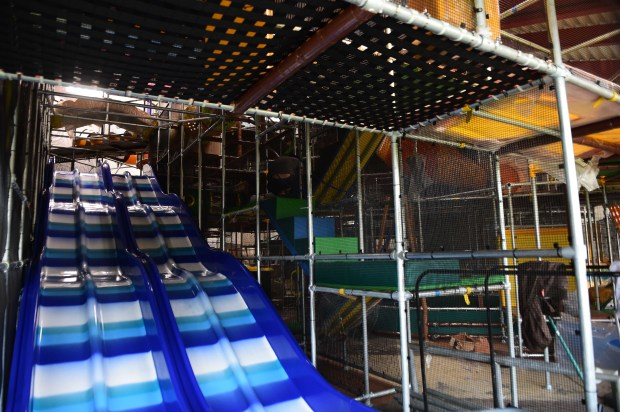 The new Eagles Nest Indoor Playground in New Brighton, photographed Nov. 2, 2017, replaces a structure built in 2003.(Scott Takushi / Pioneer Press)