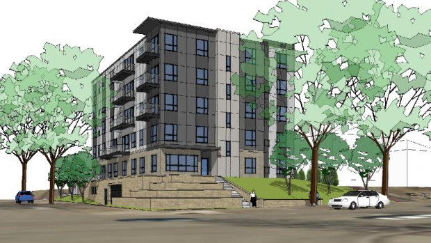 5 Story Marshall Ave Building Plan Submitted Hours Before