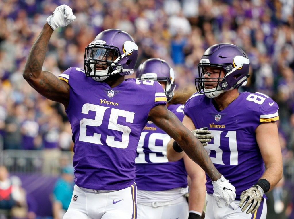 MN Vikings running back Latavius Murray has a nose for the ...