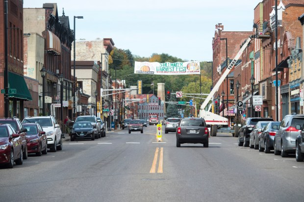Downtown Stillwater is well-known for its historic charm and antiques shops. Look closer and you'll find a day trip to this Minnesota river town bordering Wisconsin is full of contemporary fashion boutiques and home and gift stores. Tuesday, Oct. 10, 2017. (Craig Lassig / Special to the Pioneer Press)