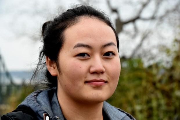 Malee Yang is an Optimist Club of St. Paul winner of a college scholarship, Thursday, Nov. 2, 2017. (Jean Pieri / Pioneer Press)