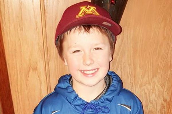Jacob Gillitzer, 9, of Benson, has died as a result of a house fire in Hibbing Tuesday morning. (Submitted photo)