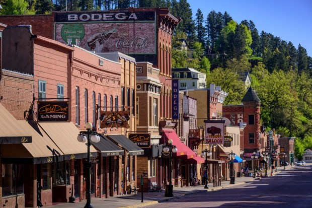 Historic Deadwood's Main Street. (Courtesy of South Dakota Department of Tourism)