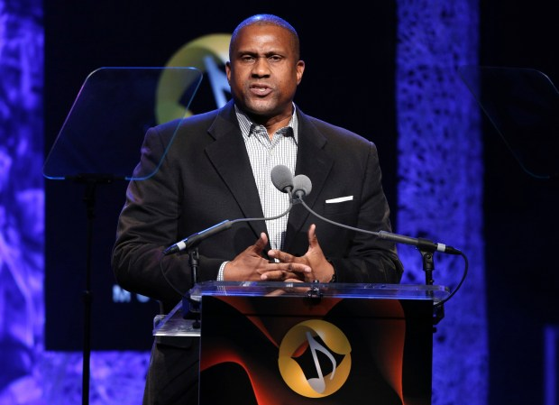 Tavis Smiley appears at the 33rd annual ASCAP Pop Music Awards April 27, 2016, in Los Angeles. (Photo by Rich Fury/Invision/AP, File)