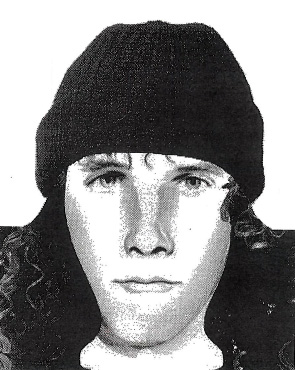 This police sketch, drawn by an artist working for the Washington County Sheriff's Office, was created on Oct. 13, 1998, based on a description given to investigators by the gas-station attendant who was the last to see Susan Swedell, 19, of Lake Elmo, on Jan. 19, 1988. (Courtesy of the Washington County Sheriff's Office)