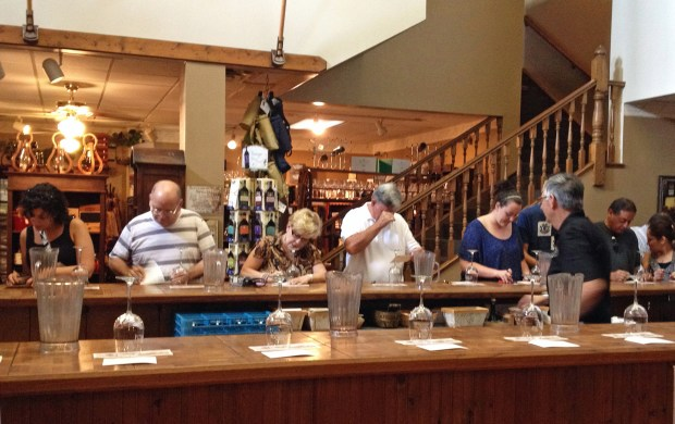 Wine-tasting at Lakeridge Winery in Clermont, about 35 miles northwest of the theme parks. (Marjie Lambert/Miami Herald/TNS)