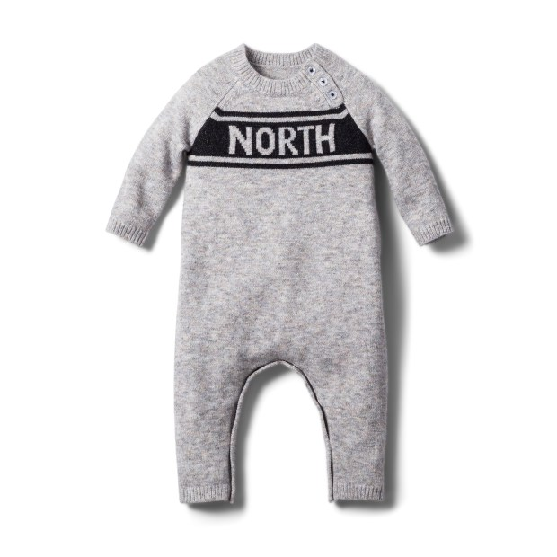 An Askov Finlayson baby suit. (Courtesy of Target)