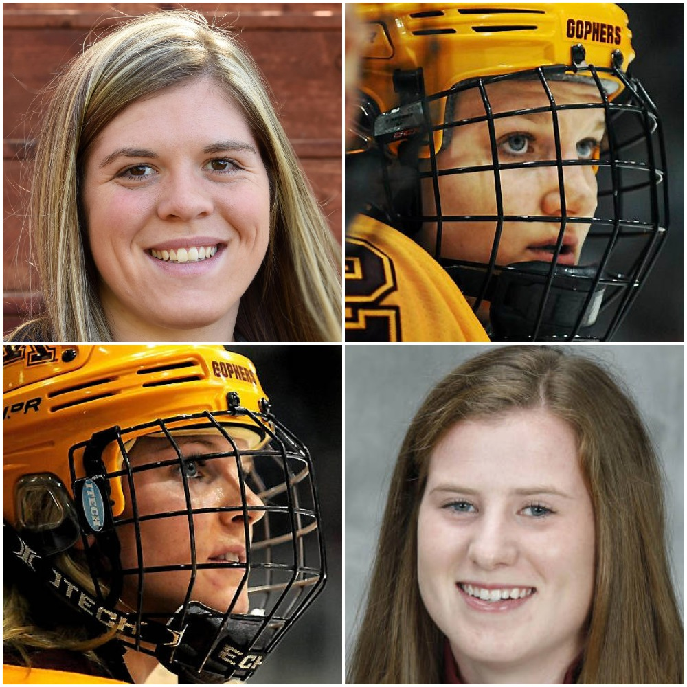 39e8871c904 Pyeongchang  U.S. Olympic Women s Hockey Team Features Eight Current Or  Former Gophers